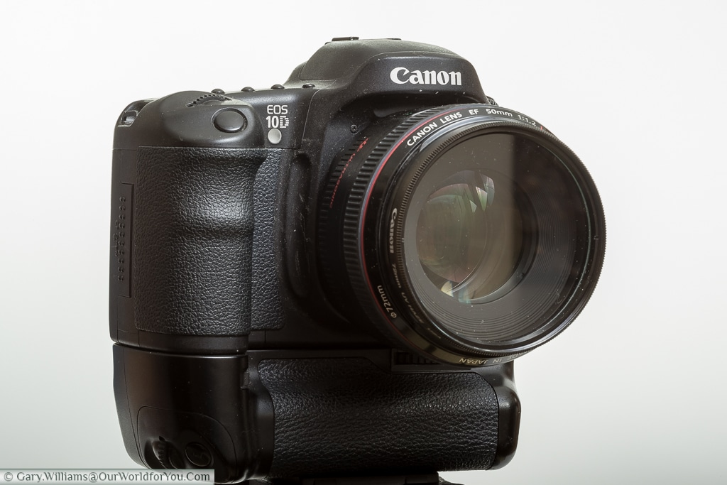 The Canon EOS 10D - My first Canon digital EOS camera.