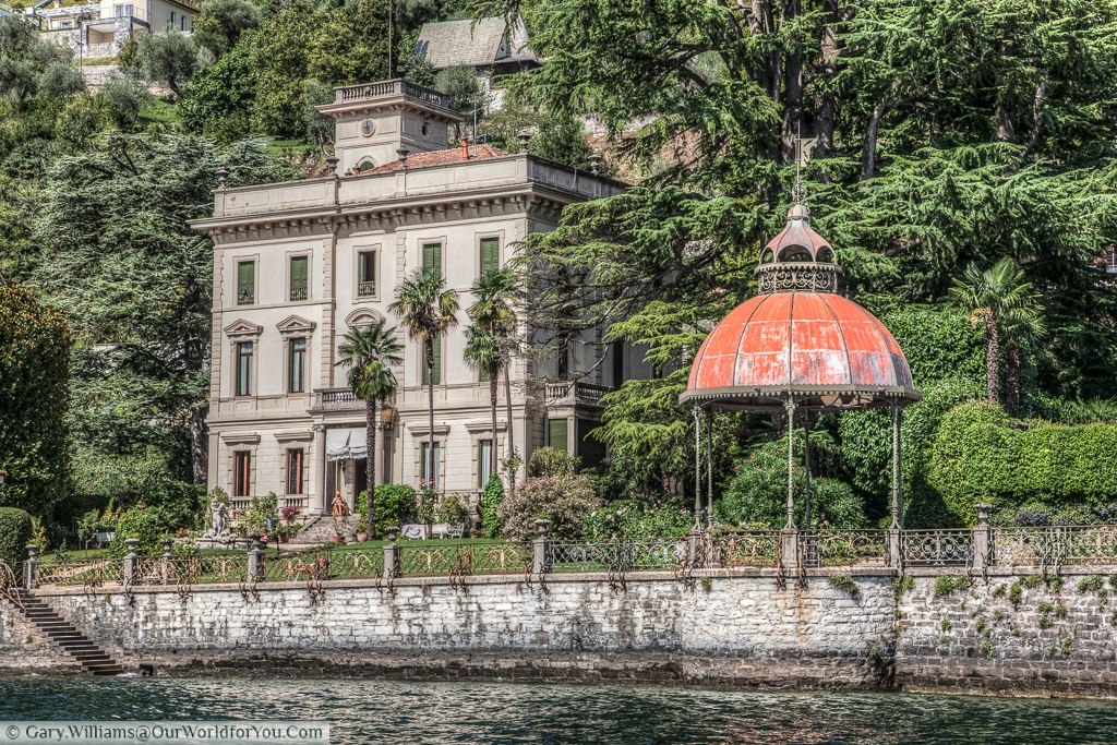 Classical lakeside views, Lake Como, Italy