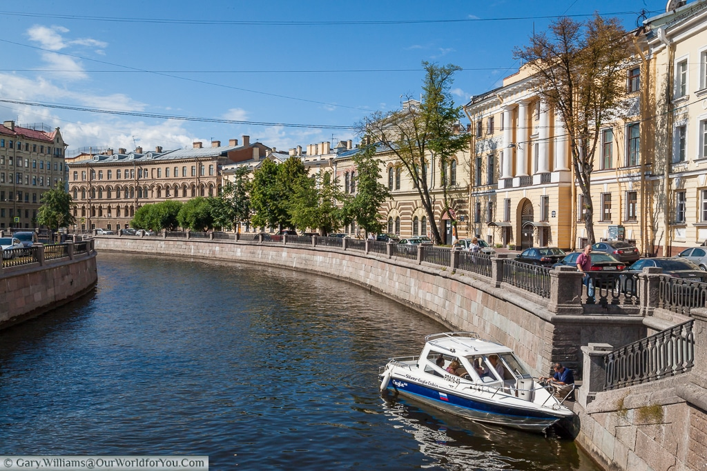 Griboedov Canal - St Peterburg - Russia