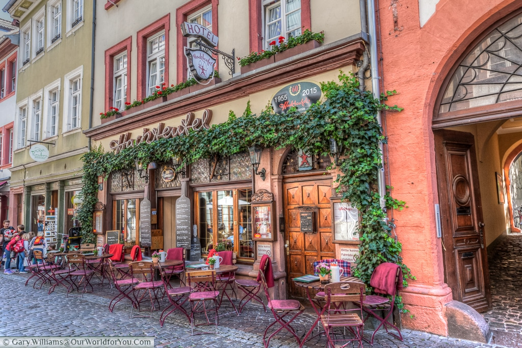Hotel Hackteufel, Heidelberg, Baden-Wurttemberg, Germany