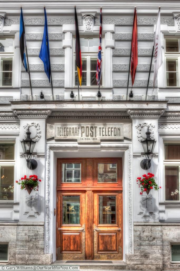 Hotel Telegraaf, Tallinn, Estonia