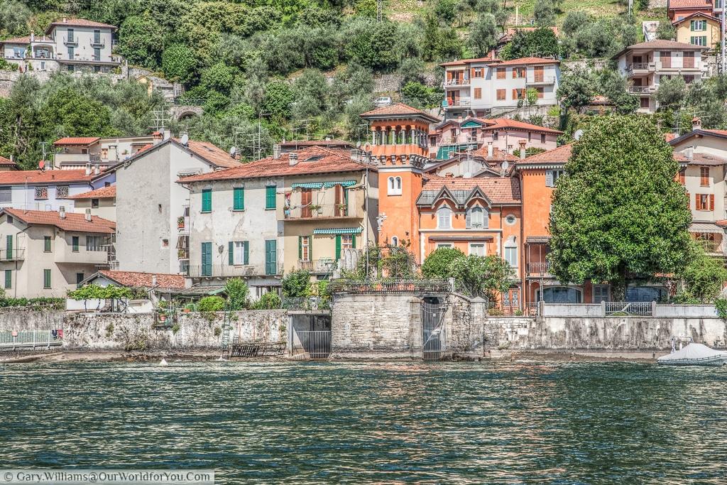 La Torre dell 'Isola, Lake Como, Italy