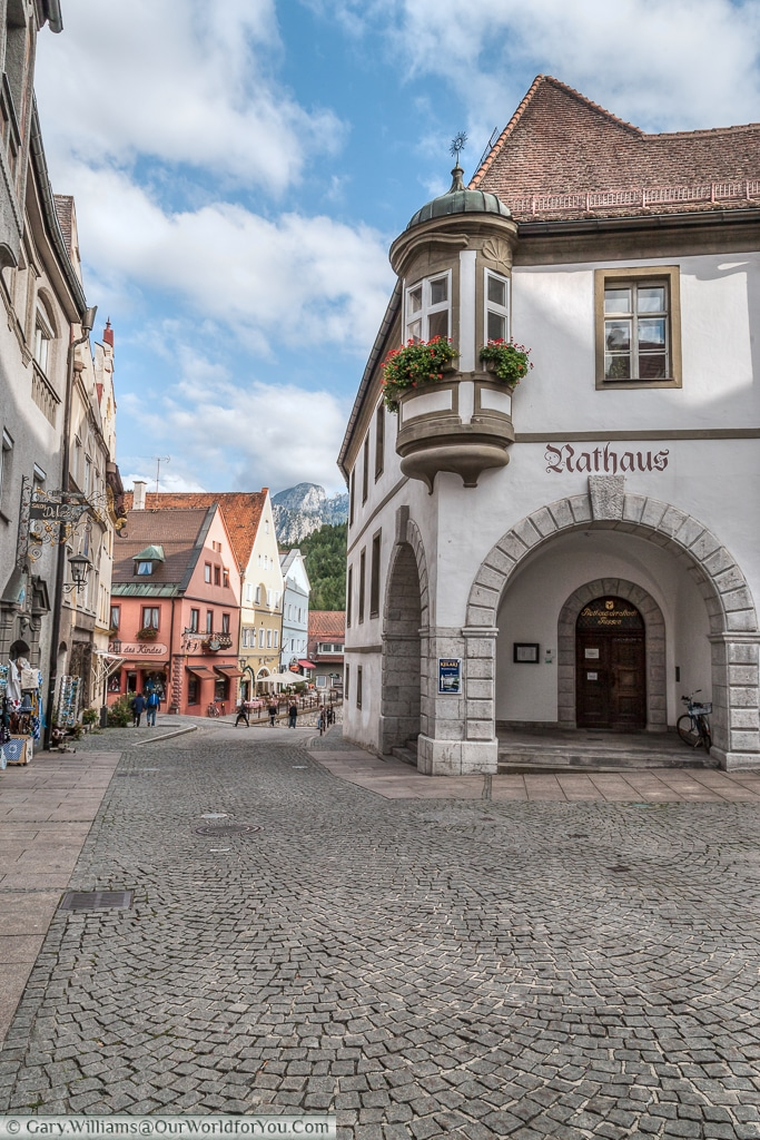 The Rathaus, Füssen, Bavaria, Germany