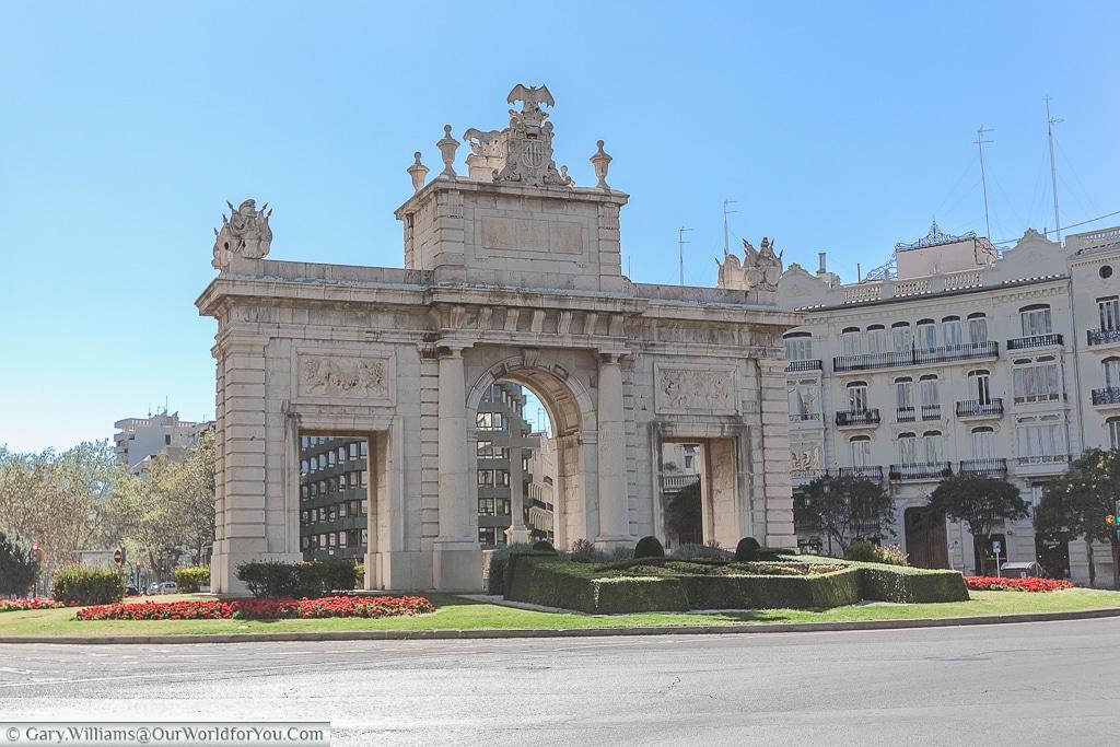 The Porta de la Mar, Valencia, Spain