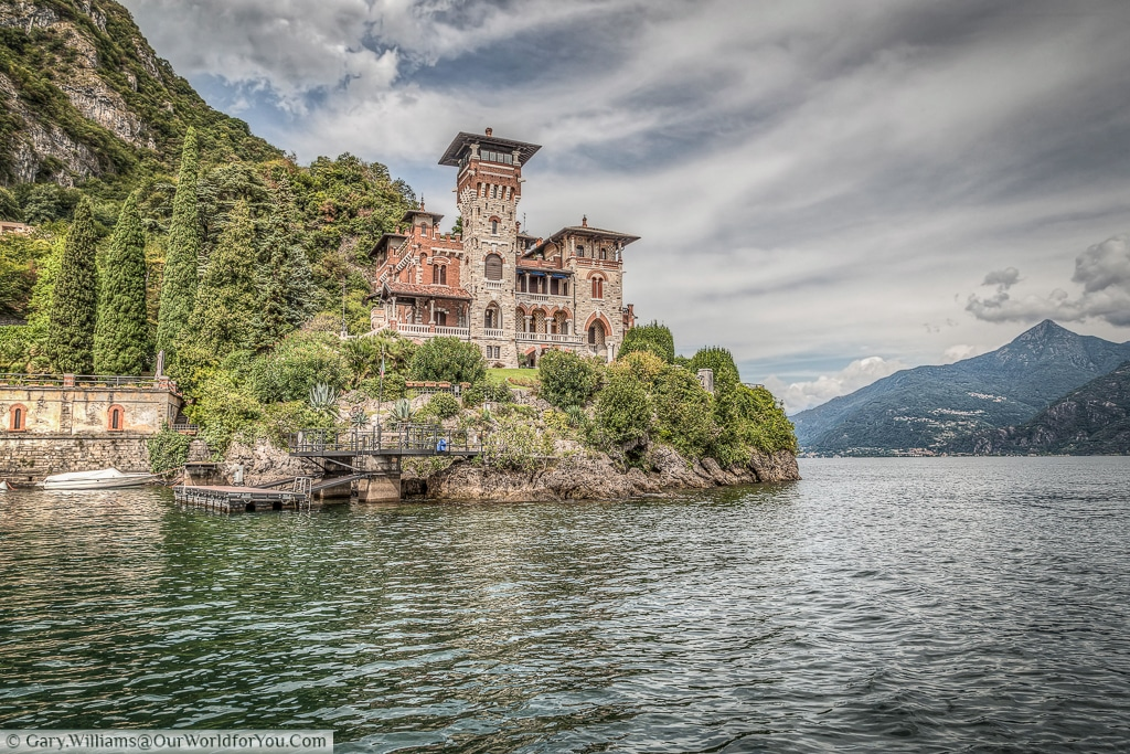 Straight from James Bond: Casino Royale - the majestic Villa Gaeta, Lake Como, Italy