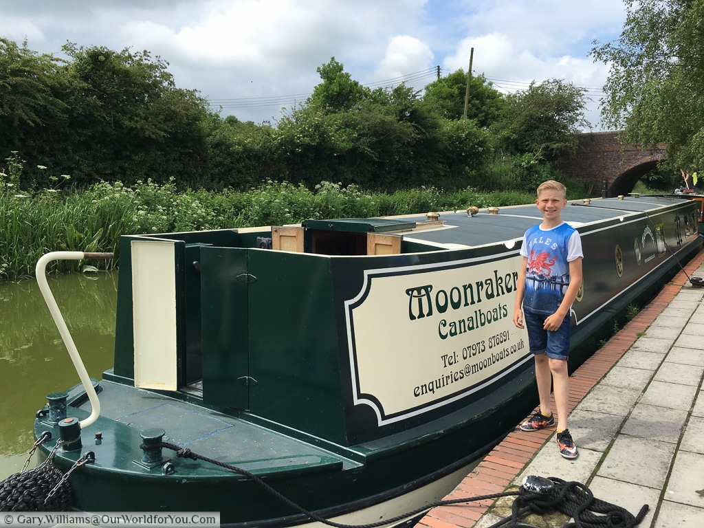 Moonbeam, from Moonraker Canalboats, on the Kennet & Avon Canal, England, United Kingdom
