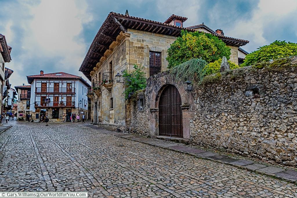 Casa de Los Villa, Santillana del Mar, Cantabria, Spain