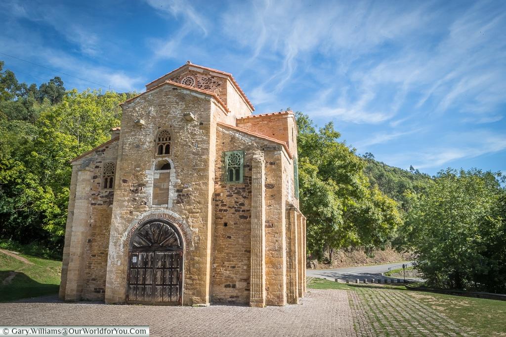 San Miguel de Lillo, Mount Naranco, Oviedo, Spain