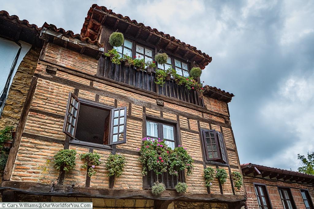 The wonderful buildings of Santillana del Mar, Cantabria, Spain