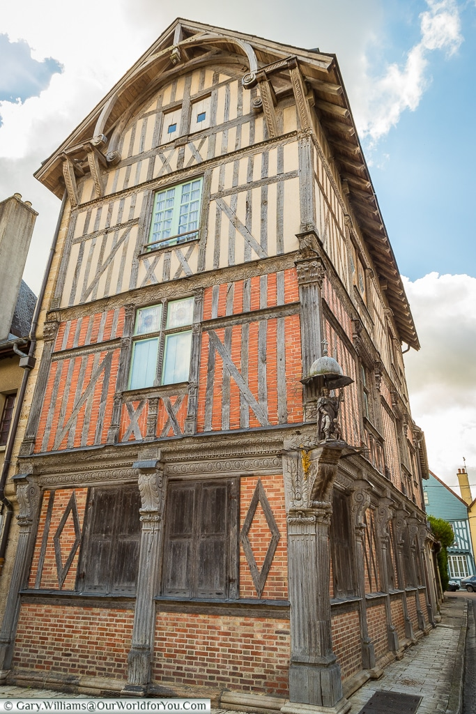 16th century Timbered House, Bar-sur-Seine, France