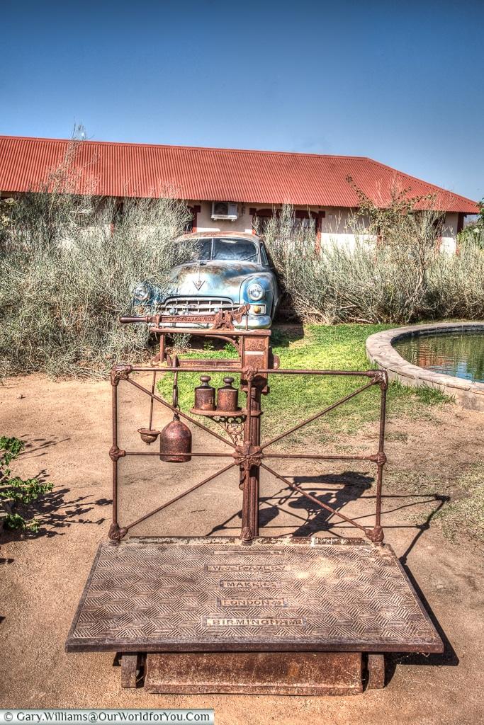 Abandoned at the Roadhouse, Fish River Canyon, Namibia