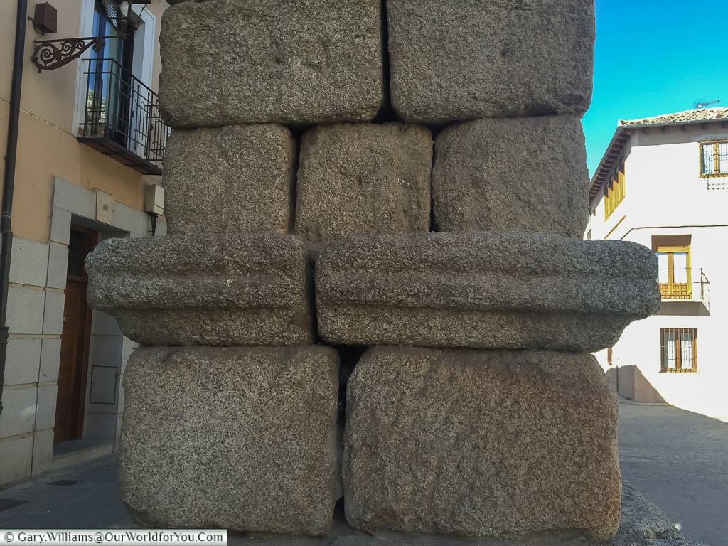 Ancient stone, Segovia, Spain