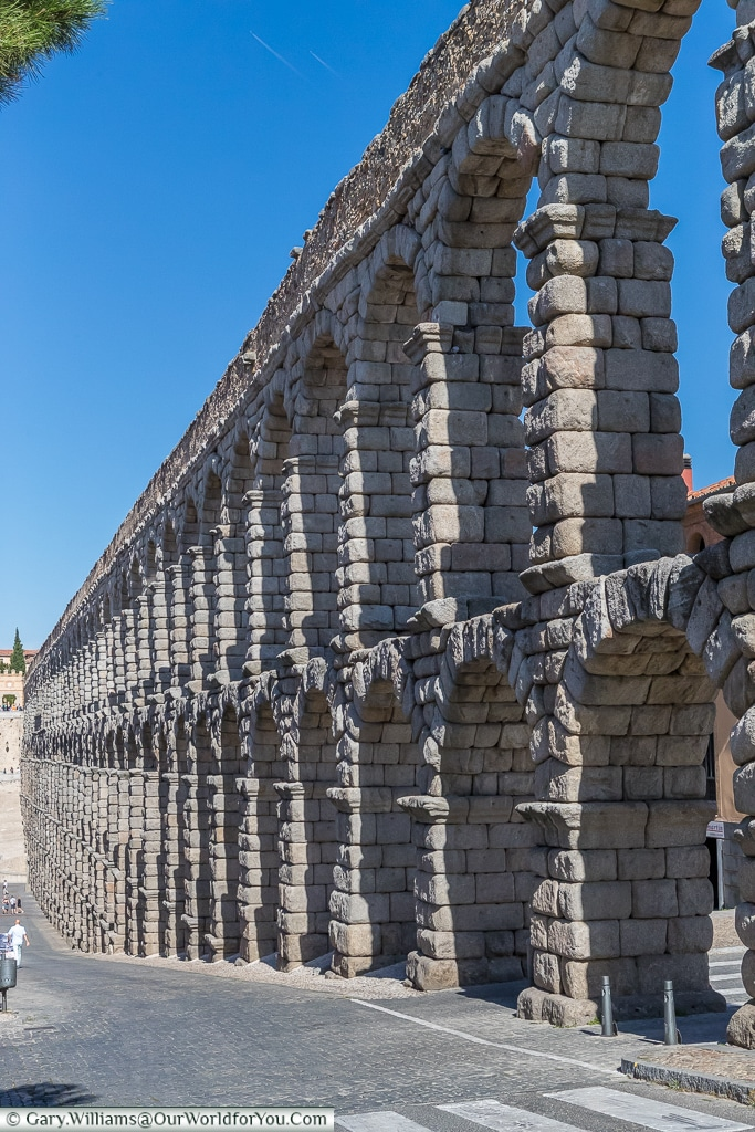 Awe inspiring human endeavour, Segovia, Spain