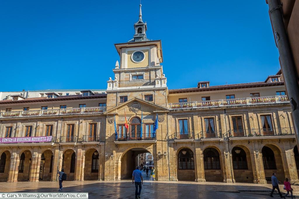 Cityhall, Oviedo, Spain