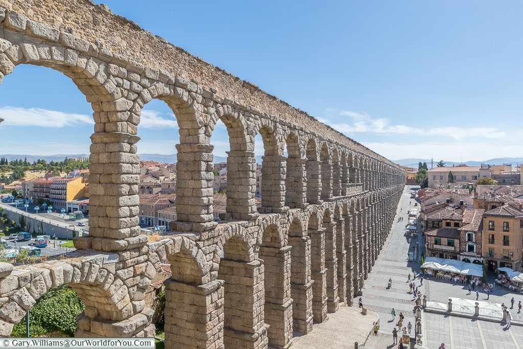 Climb up high for the best views, Segovia, Spain