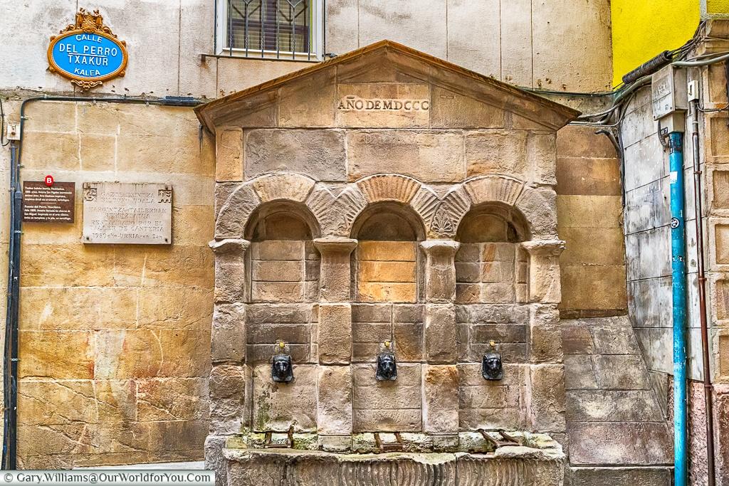 Fuente del Perro, Bilbao, Spain