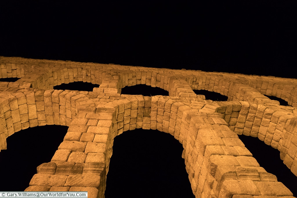 Impressive height, Segovia, Spain