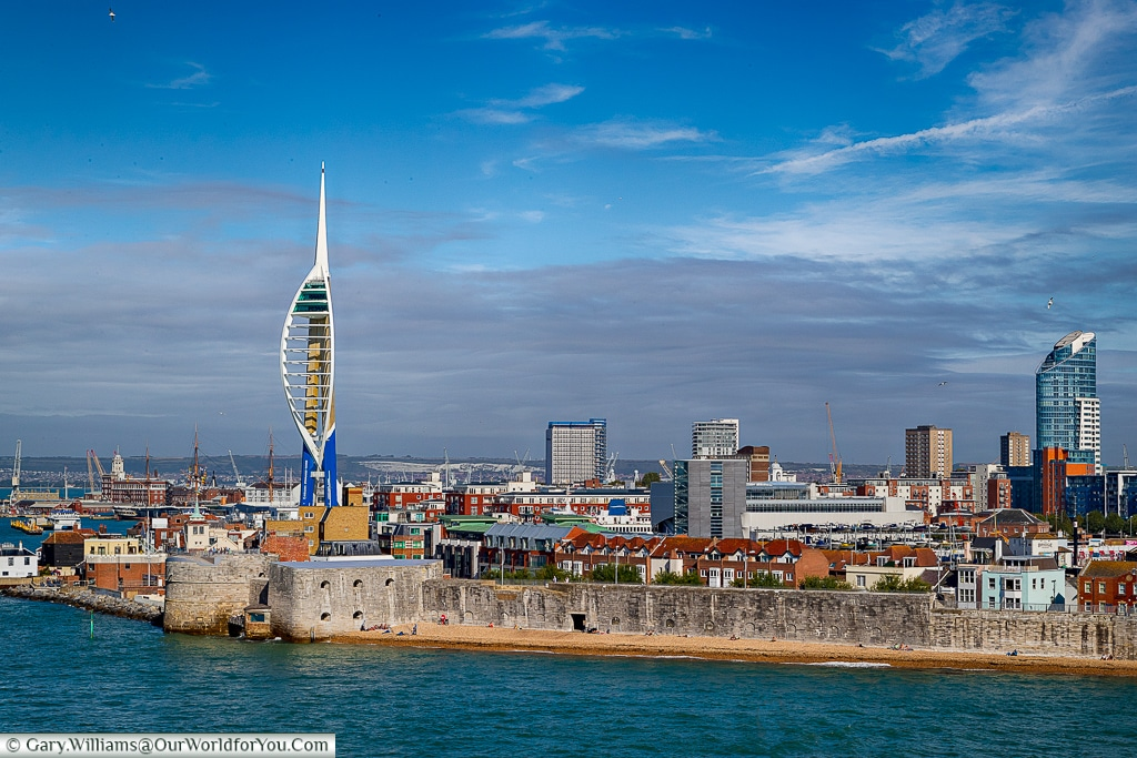 Leaving Portsmouth heading for Bilbao, Spain