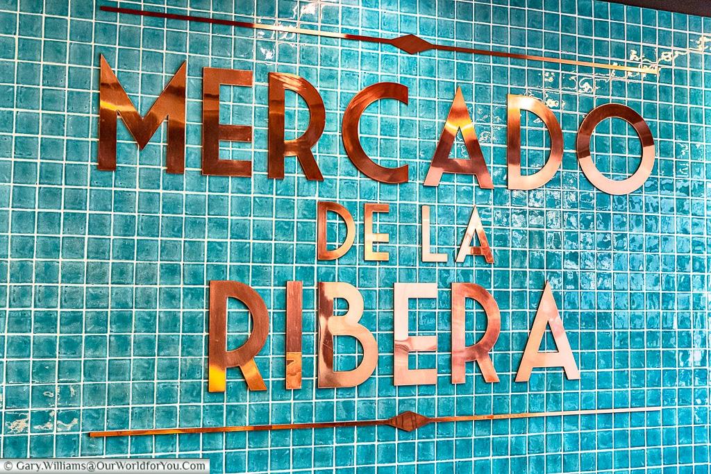 Mercado de la Ribera, Bilbao, Spain