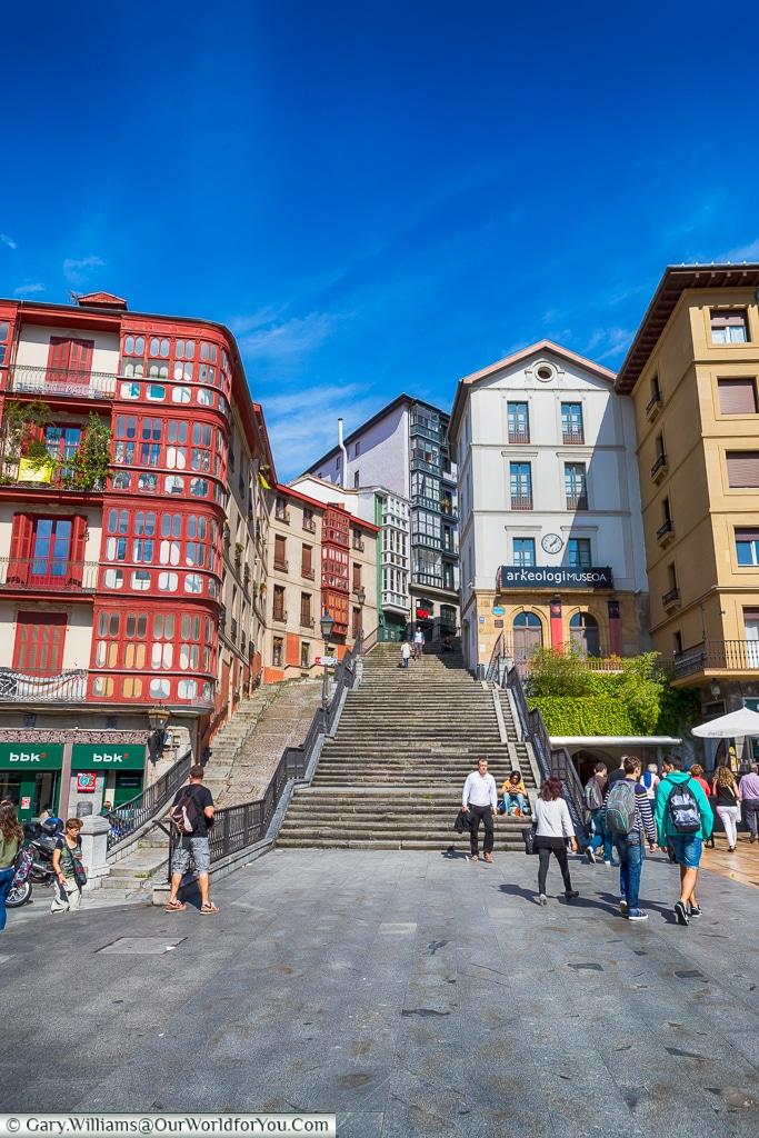 Miguel Unamuno Plaza, Bilbao, Spain