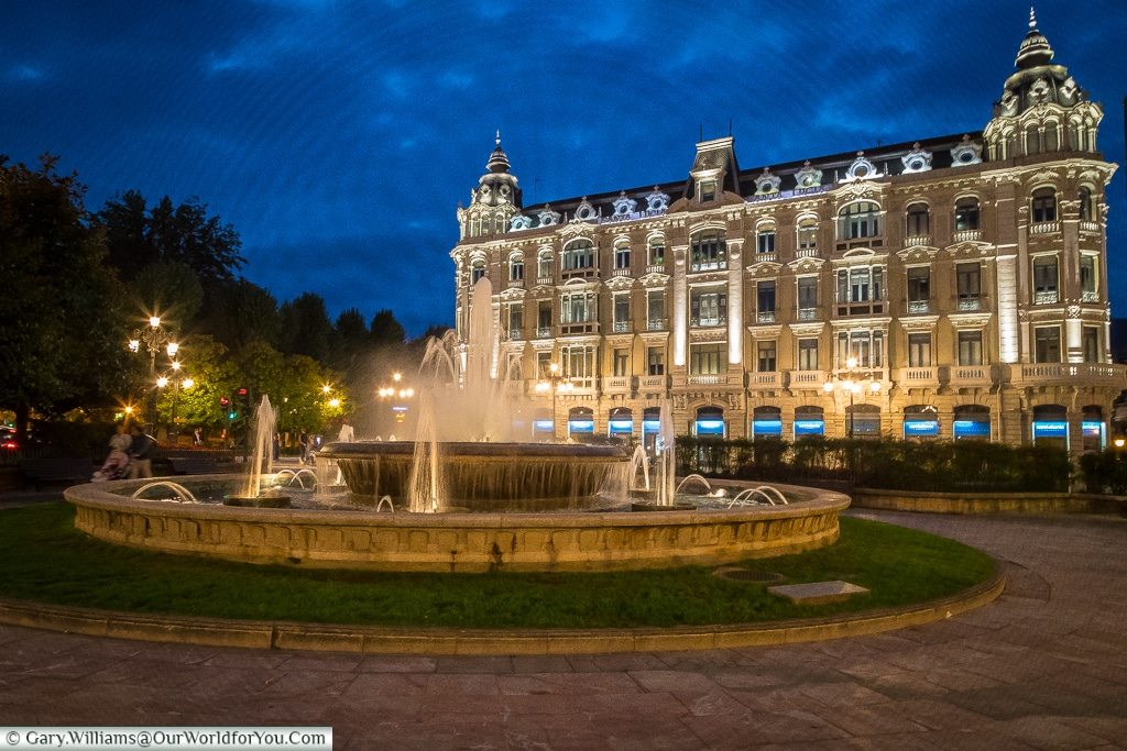 Plaza de la Escandalera, Oviedo, Spain