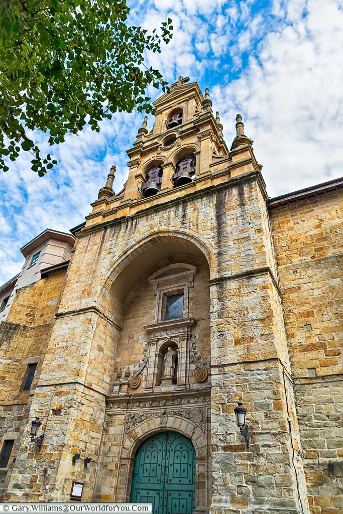 San Vincent Church, Bilbao, Spain