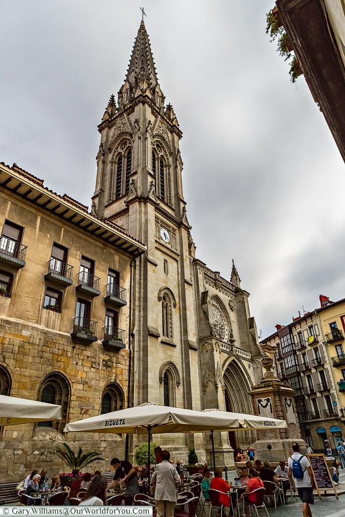 Santiago Cathedral, Bilbao, Spain