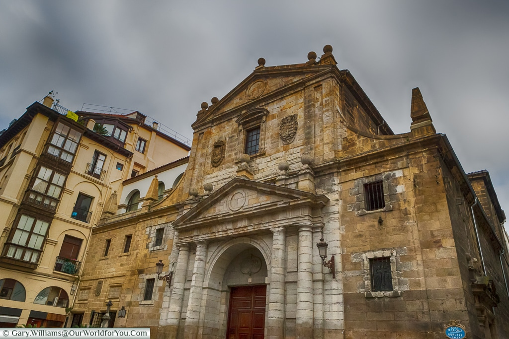 Santos Juanes Church, Bilbao, Spain