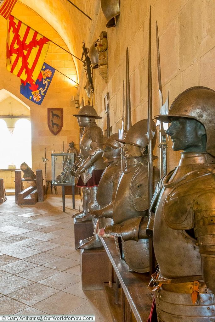 The Armoury, Alcázar, Segovia, Spain