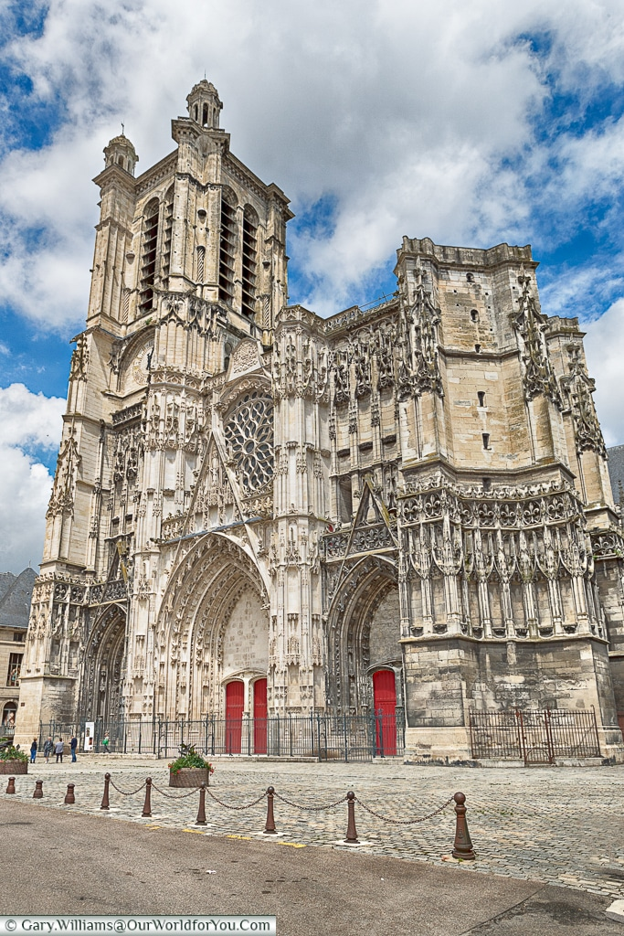 The Cathedral, Troyes, Champagne, Grand Est, France