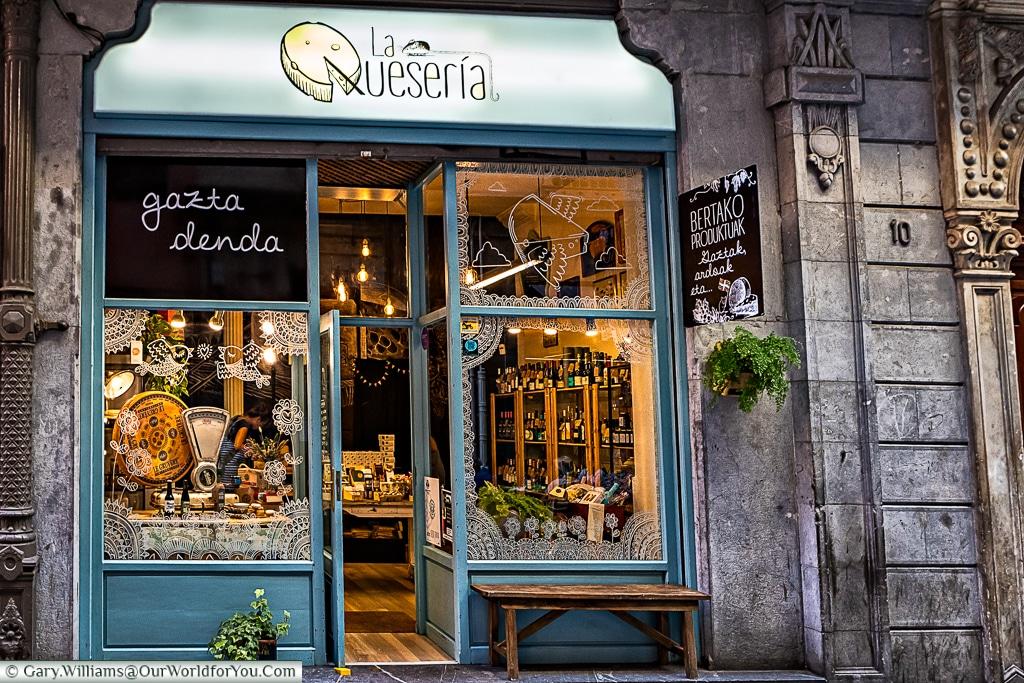 The Cheese Shop, Bilbao, Spain