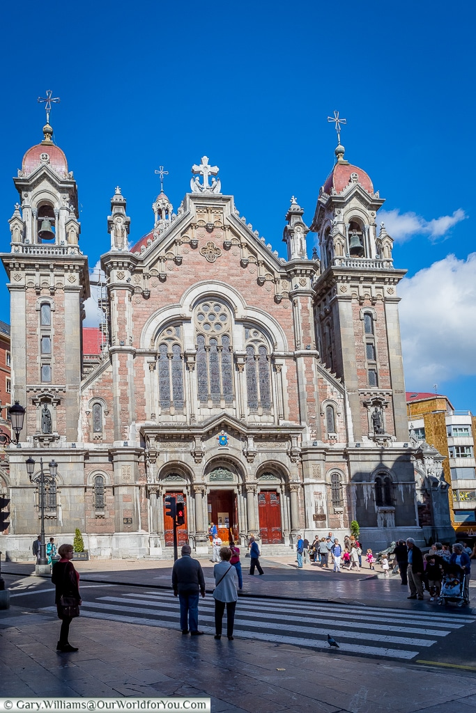 The Church of San Juan el Real, Oviedo, Spain