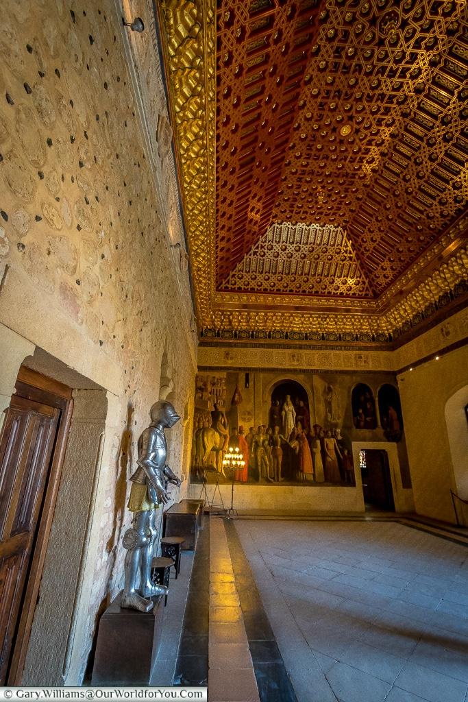 The Galley Room, Alcázar, Segovia, Spain