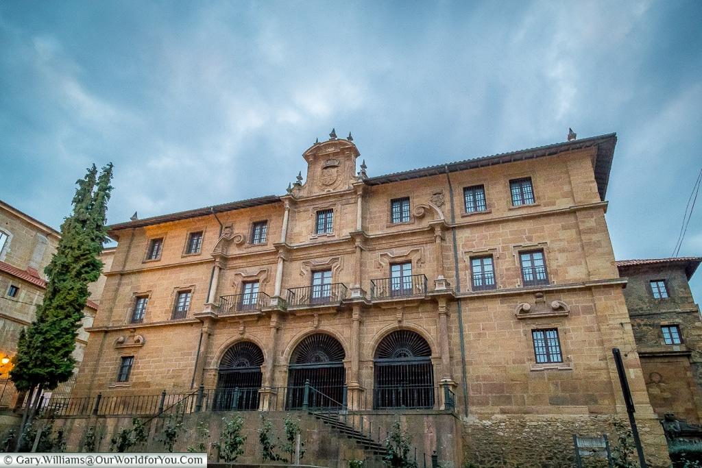 The Monastery of Saint Pelagius, Oviedo, Spain