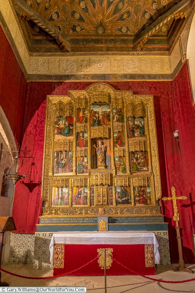 The chapel of the Alcázar, Segovia, Spain