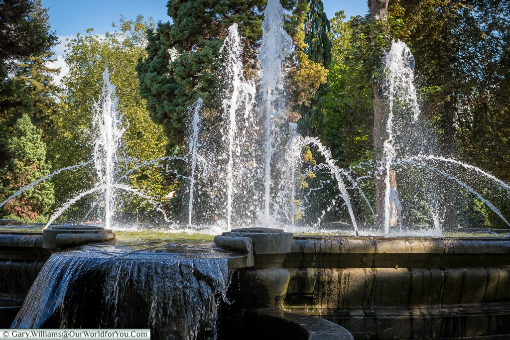The fountain, Oviedo, Spain