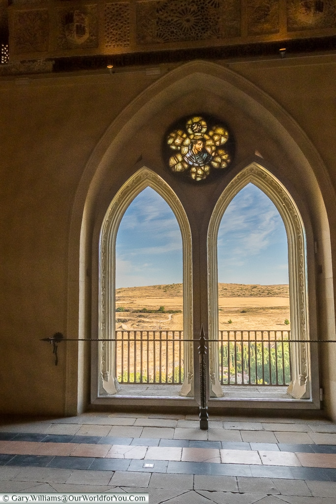 The view from the Galley Room, Alcázar, Segovia, Spain