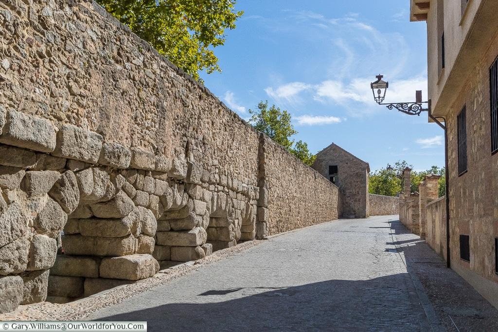 The waterhouse on the left, Segovia, Spain