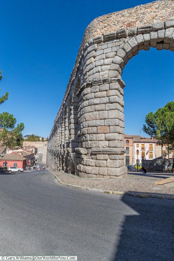 Where the water turns, Segovia, Spain