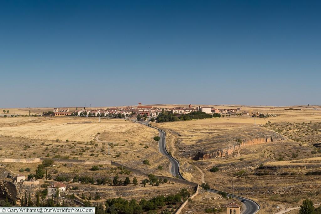 Across the plains, Segovia, Spain