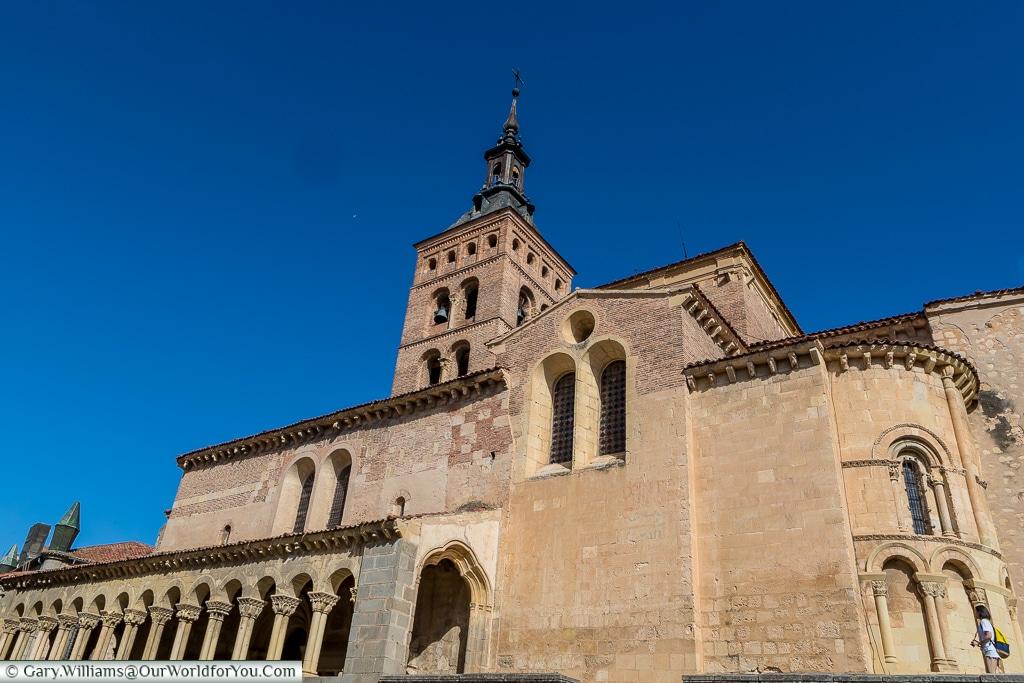 San Esteban church, Segovia, Spain