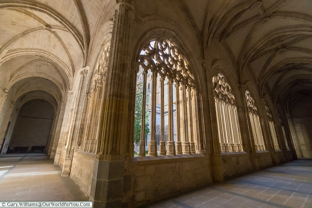 The cloisters of the Cathedral, Segovia, Spain