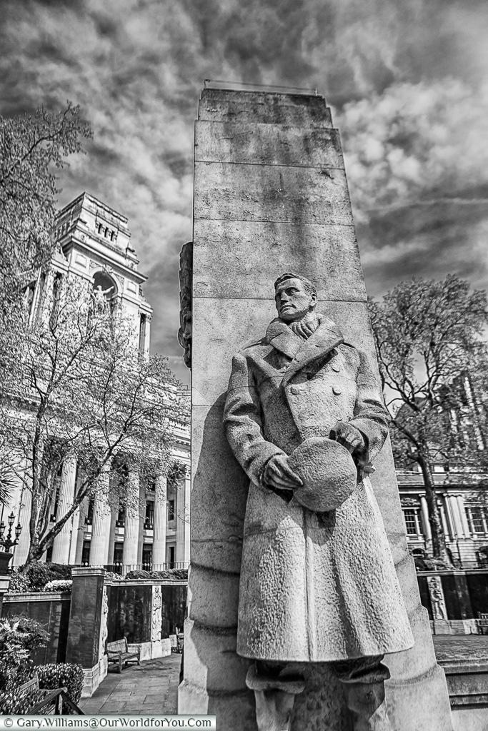An Officer, Tower Hill Memorial, London, England
