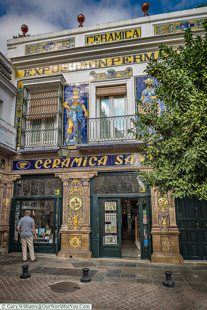 Ceramics & Triana go together, Seville, Spain