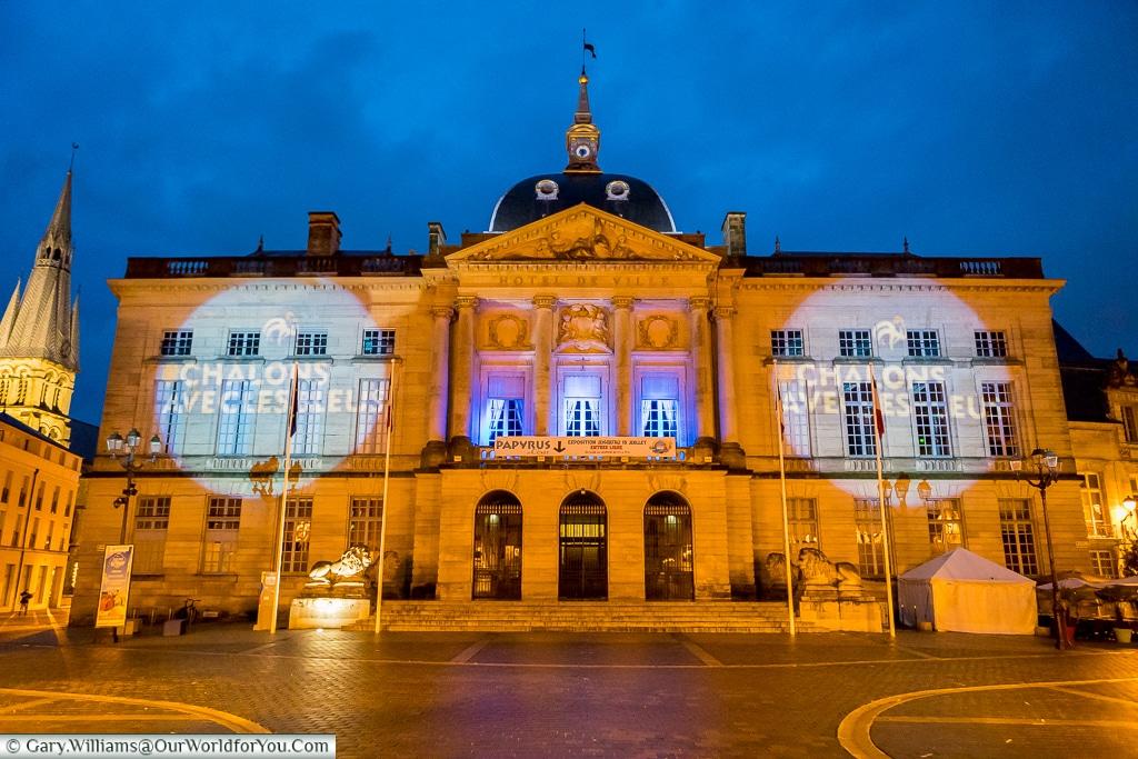 Hotel de Ville, Châlons-en-Champagne, France