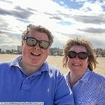 Janis & Gary on Valencia Beach