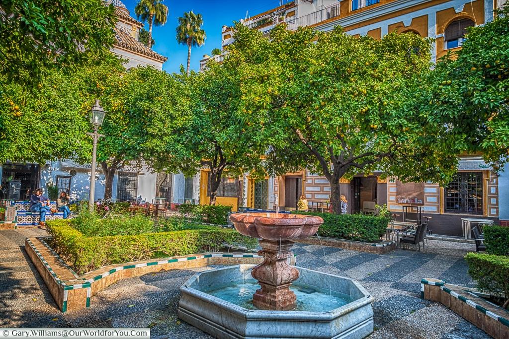 Plaza de Doña Elvira, Seville, Spain