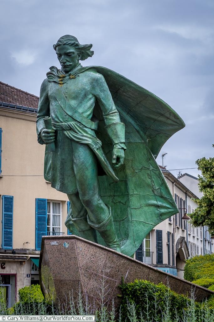 Statue of Jean Talon, Châlons-en-Champagne, France
