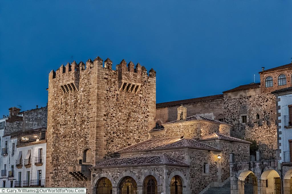 The Bujaco Tower, Cáceres, Spain