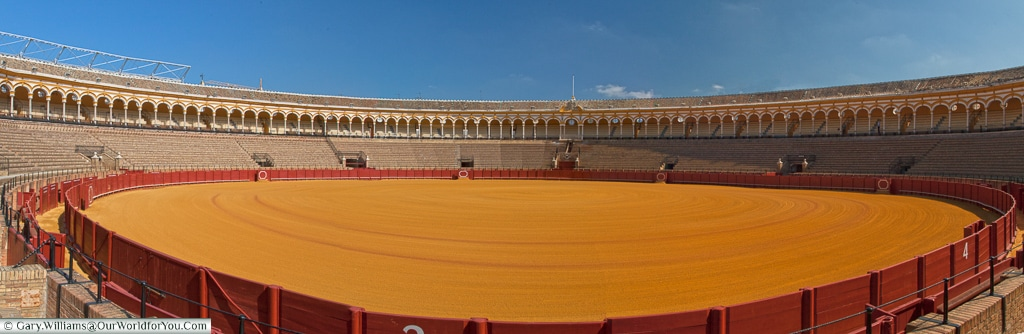 The Bullring of Seville, Spain